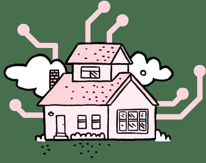 Left house
